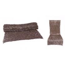 Ulfberth Chain mail skirt, mixed rings, 6 mm