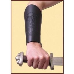 Paar armbeschermers met Thorshamer