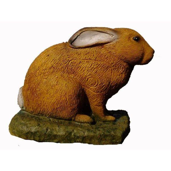 IBB 3D crouching European hare