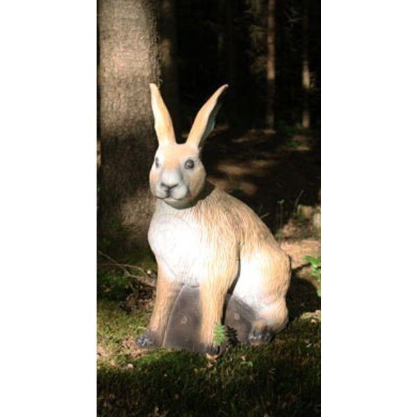 FB 3D siddende europæiske hare