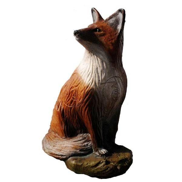 IBB 3D siddende ræv