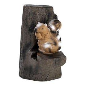 FB 3D egern i træet