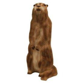 3D stående murmeldjur