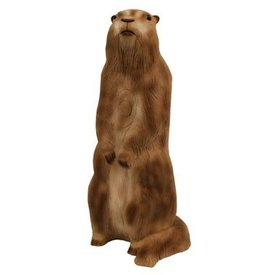 Marmotte sur ses pattes en 3D