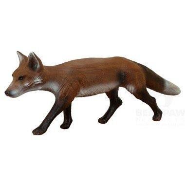 3D rennende vos