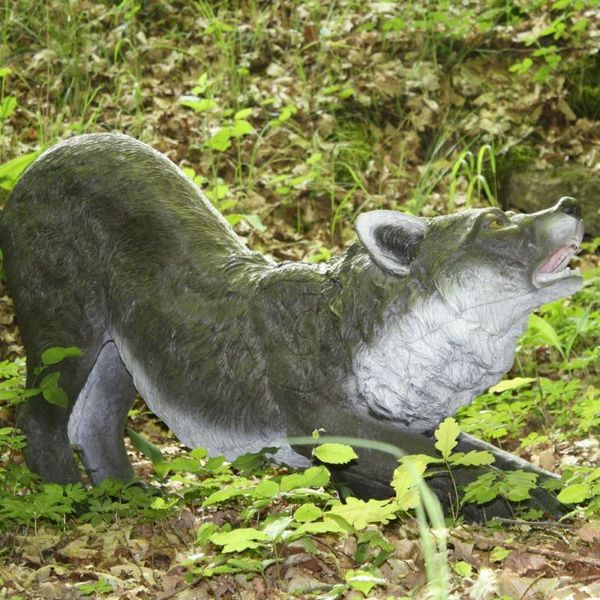 FB 3D knielende wolf