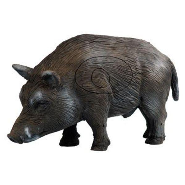 3D stående vildsvin