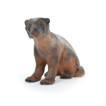 3D sitting wolverine