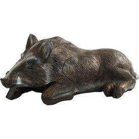 3D hvile vildsvin