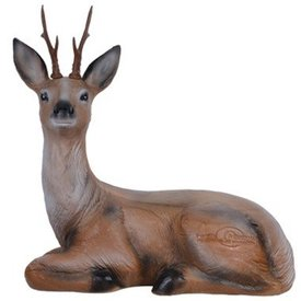 Cerf assis en 3D