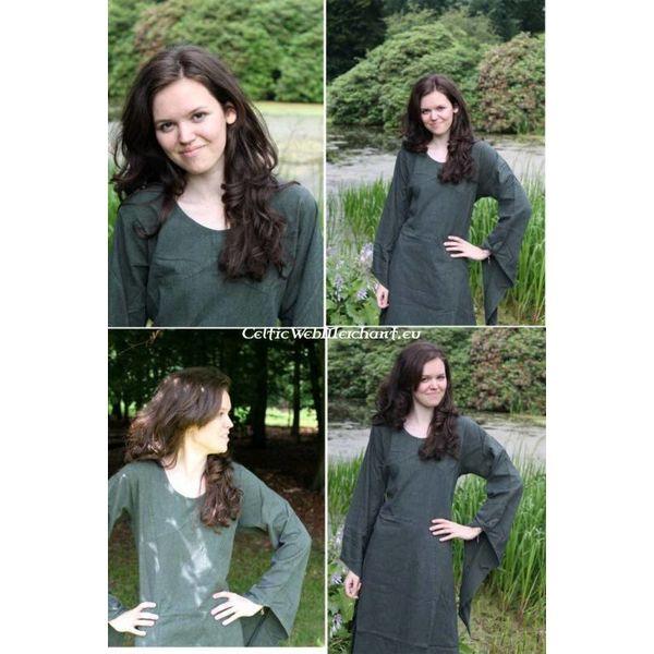 vestido verde Fand