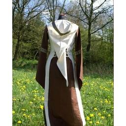 Dress Boann (brown-white)