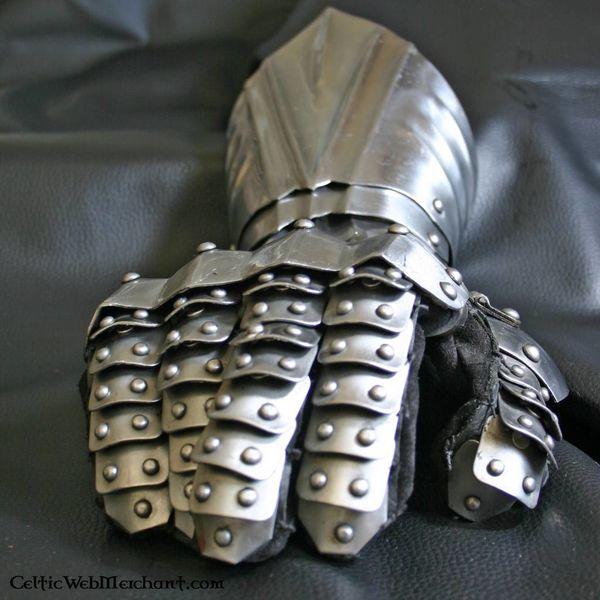 Deepeeka Guanti d'arme con rivetti