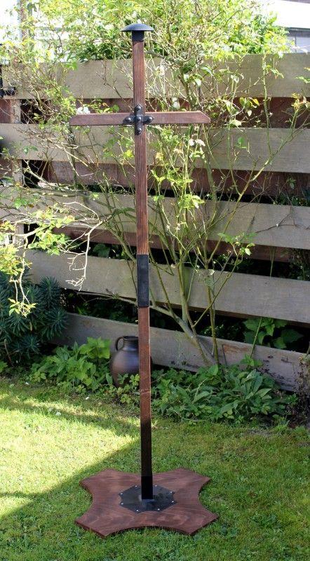 Holzständer, 180 cm