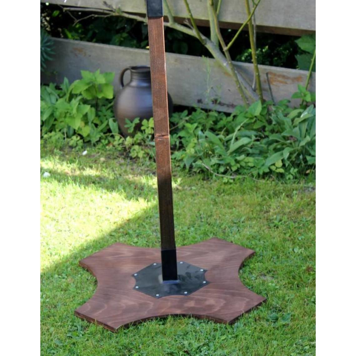Soporte madera, 180 cm