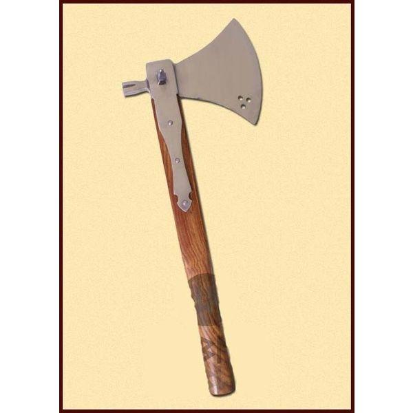 Ulfberth Axe with hammer, 16th century