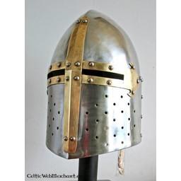Wielki hełm francuski (XII-XIII wiek)