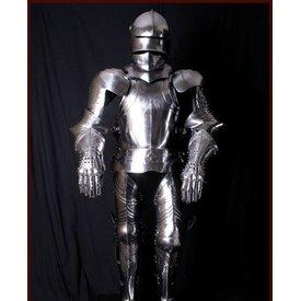 Deepeeka terno do século 15 de armadura