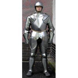 Tarde terno alemão do século 16 de armadura