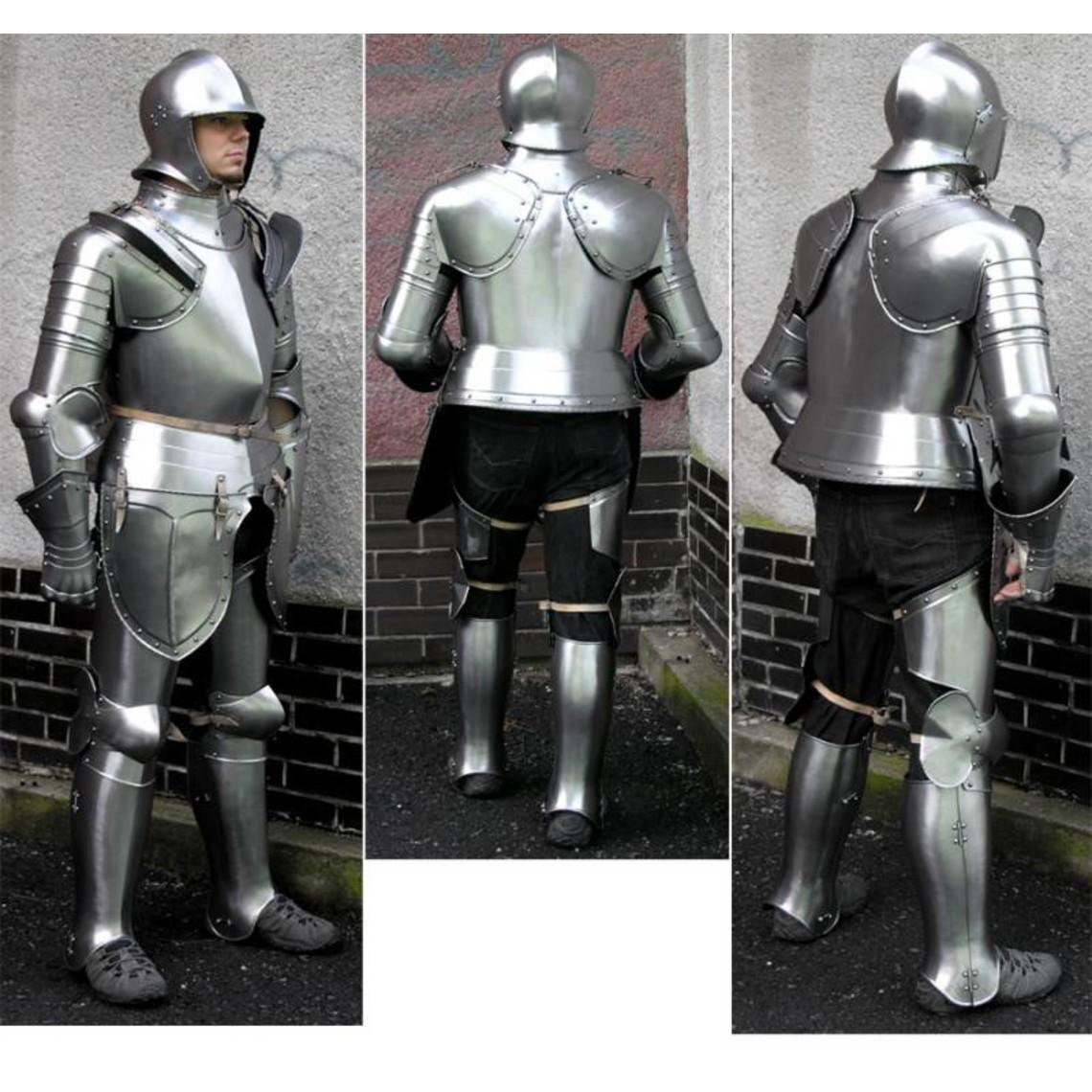 Ende des 16. Jahrhunderts deutsche Rüstung
