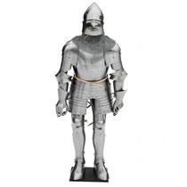 Late 14th century suit of armour