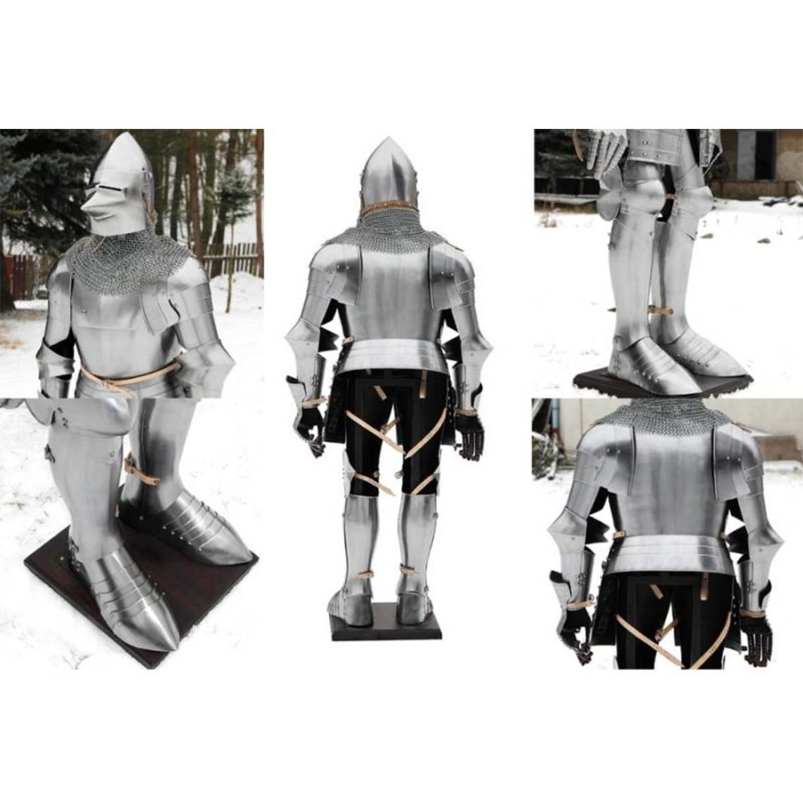 Armure, fin du 14ème siècle