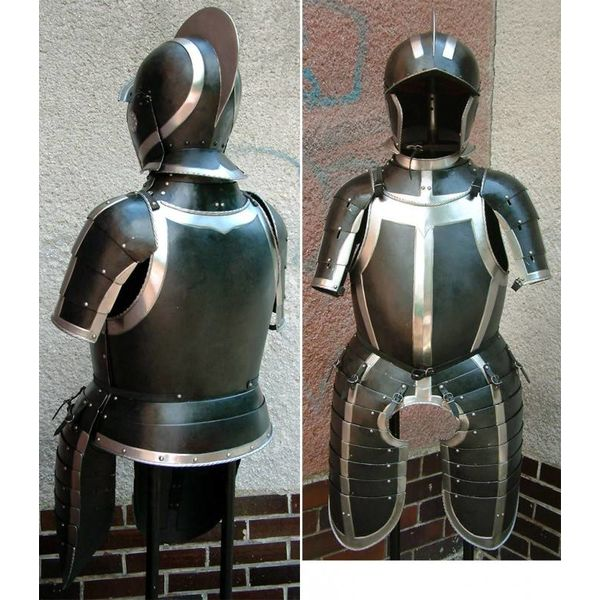Metade armadura Guerra dos Oitenta Anos