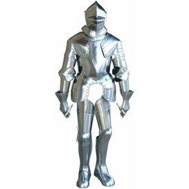 terno italiana do renascimento de armadura