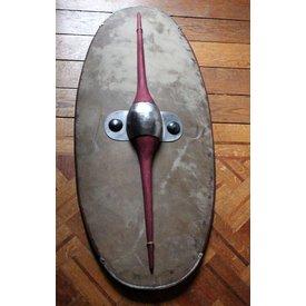 Bouclier celtique, période de La Tène