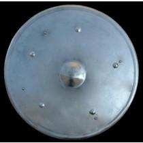 Stål rund Sköld, 55 cm