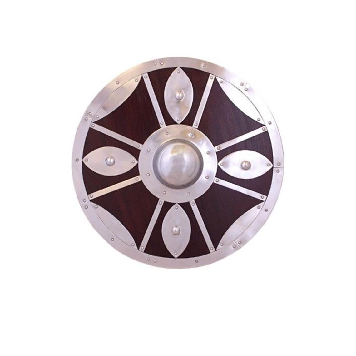 Deepeeka Beaten round shield