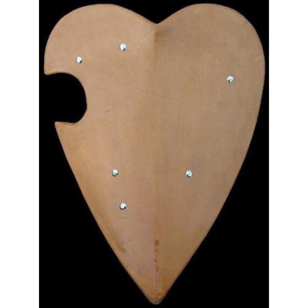 Heart-shaped tournament shield