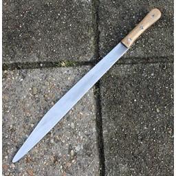 Seax with oakwooden handle