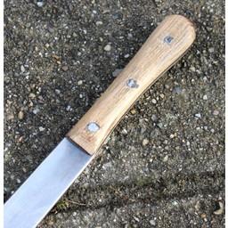 Seax mit oakwooden Griff