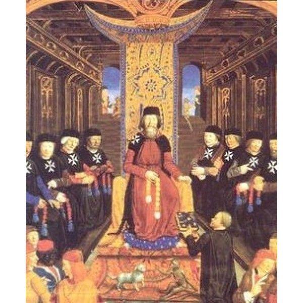Ulfberth Historical Hospitaller surcoat