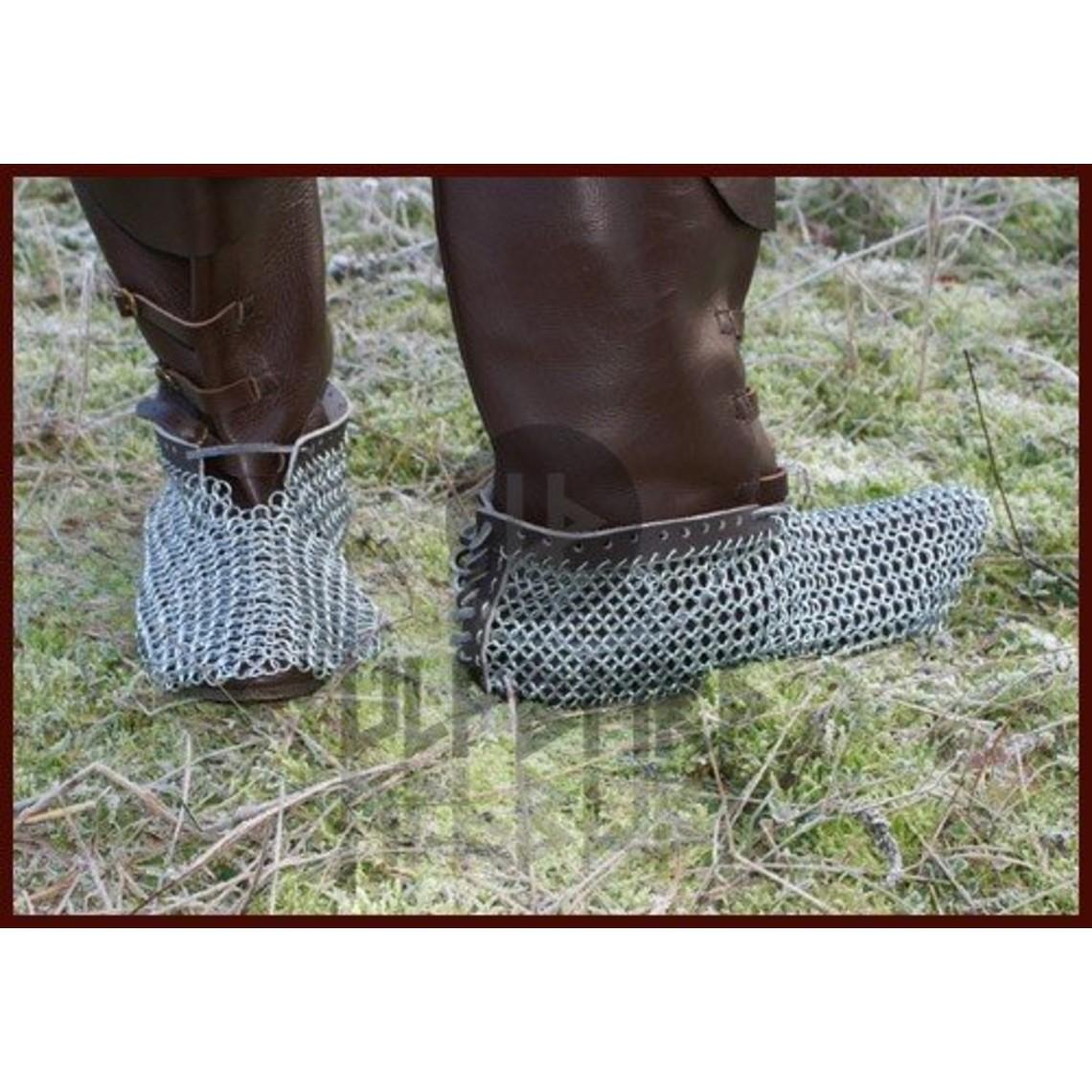 Ulfberth Escarpes cota de malla, galvanizada, 8 mm