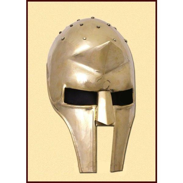Deepeeka Helmet Gladiator messing