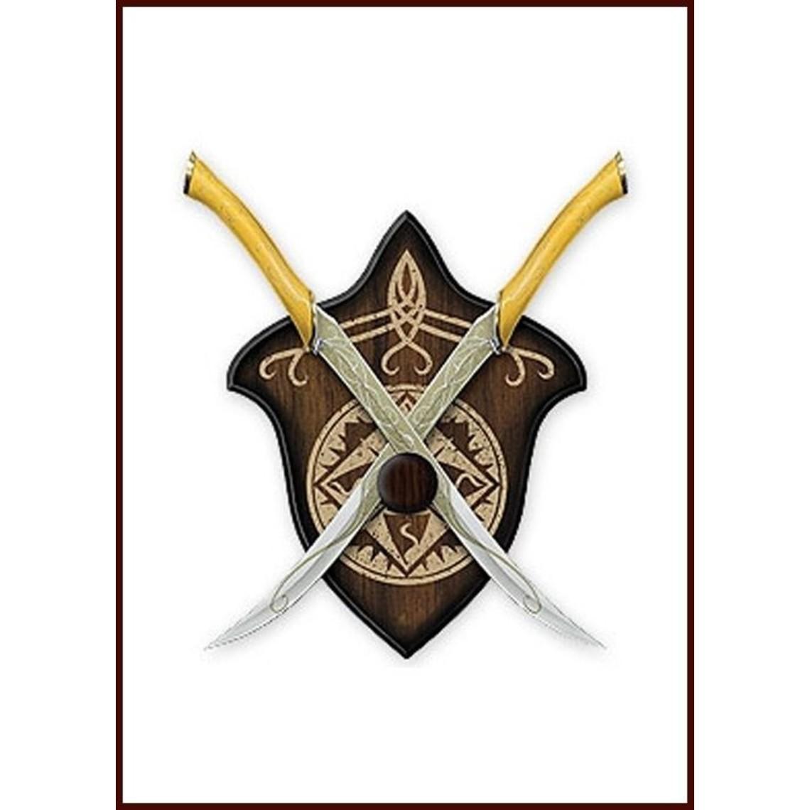 Battle knives of Legolas - CelticWebMerchant.com