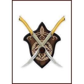 facas batalha de Legolas