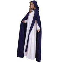 Cloak with long hood