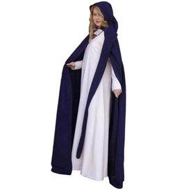 Płaszcz z długim kapturem