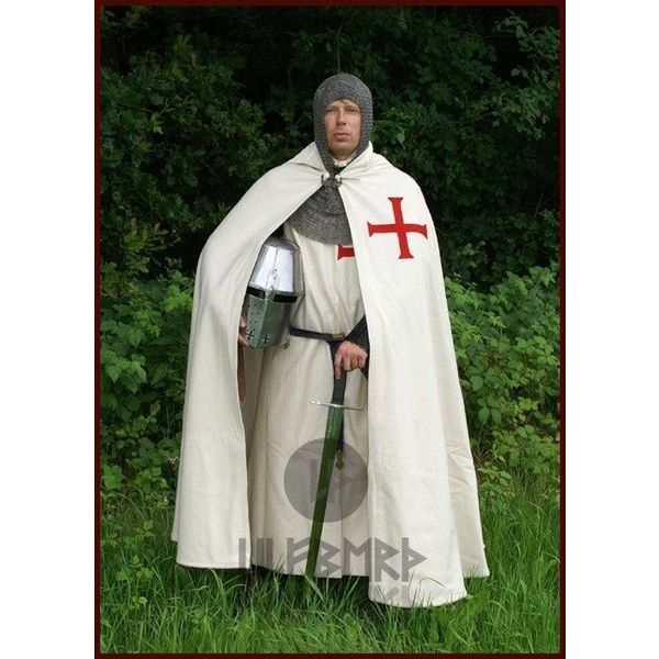 Ulfberth Historyczny Templariusz płaszcz