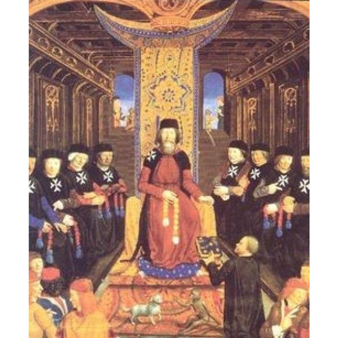 Ulfberth Manto historico Hospitalario