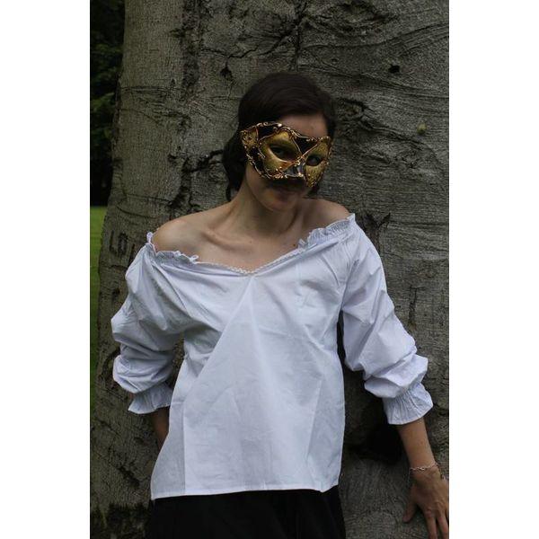 Bluzka biała Fleur