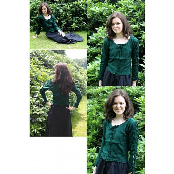 Blouse Andrea green