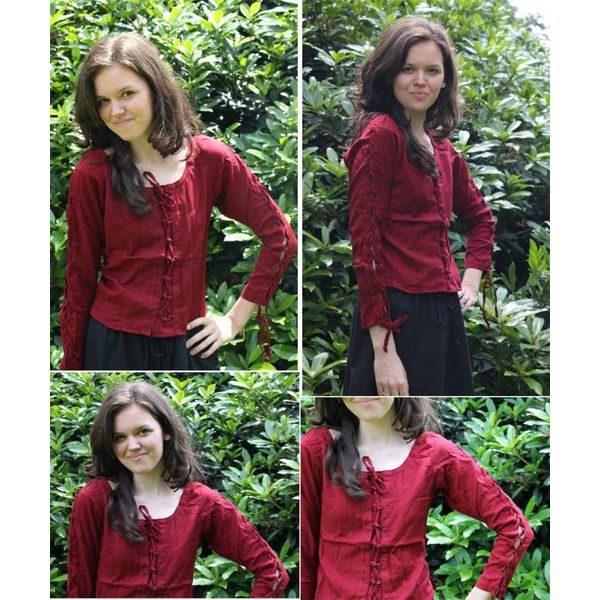 Blouse Andrea red