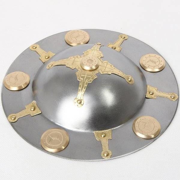 Germaanse gedecoreerde schildknop
