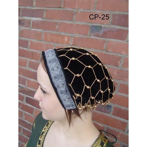 Cuffia con rete per capelli