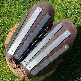 fettgrevar läder-stål