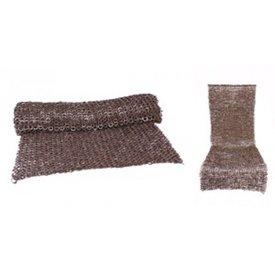 Ulfberth Gonna di cotta di maglia, anelli piatti-rivetti rotondi, 8 mm